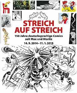 streich auf streich 150 jahre deutschsprachige comics seit max und moritz. Black Bedroom Furniture Sets. Home Design Ideas