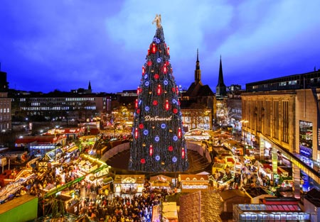 Wo Ist Der Größte Weihnachtsmarkt.Weihnachtsmarkt Dortmund 2018