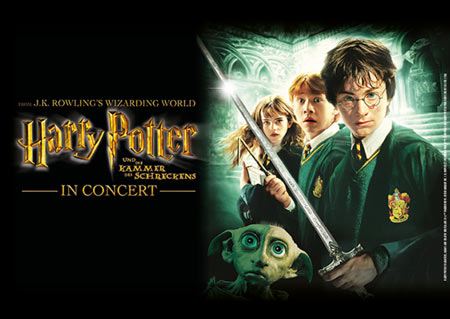 film concert series harry potter und die kammer des. Black Bedroom Furniture Sets. Home Design Ideas