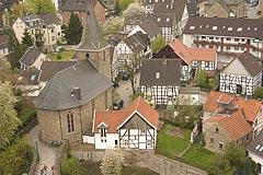 Fantastischer Ausblick über das Ruhrtal und auf die Alte Freiheit Blankenstein