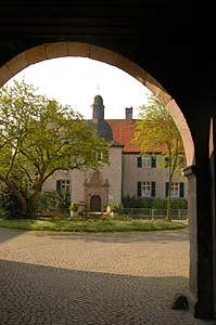 Das Wasserschloss Haus Dellwig in Dortmund ist ein beliebter Treffpunkt