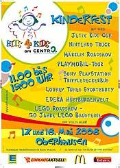 hits4kids in oberhausen, Einladungen
