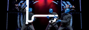 Blue Man Group Show, Foto: Lindsay Best