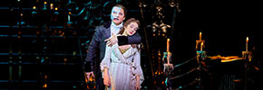 Phantom und Christine, Foto: Stage Entertainment